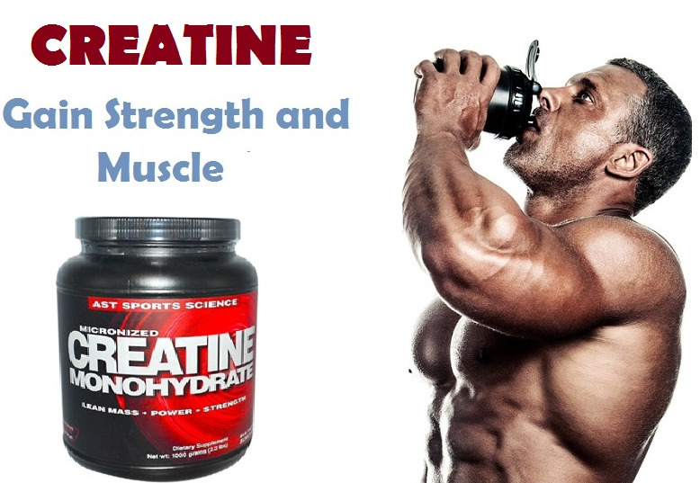 CREATINE FOR MUSCLE BUILDING